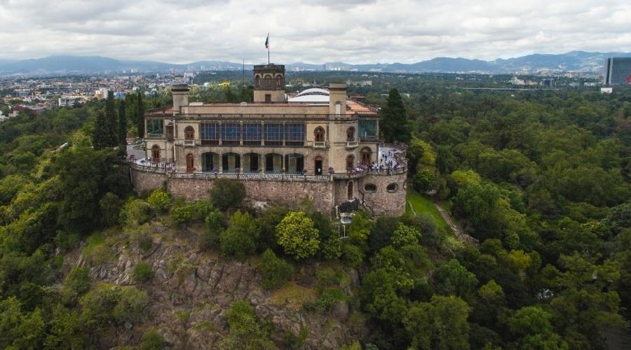 MEX-CASTILLO CHAPULTEPEC-OPERANDOVIAJESYTURISMO